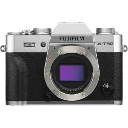 фотоапарат Fujifilm X-T30 (сребрист) + обектив Fujifilm Fujinon XC 15-45mm f/3.5-5.6 OIS PZ