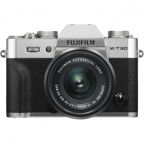FUJIFILM X-T30 SILVER+15-45MM KIT