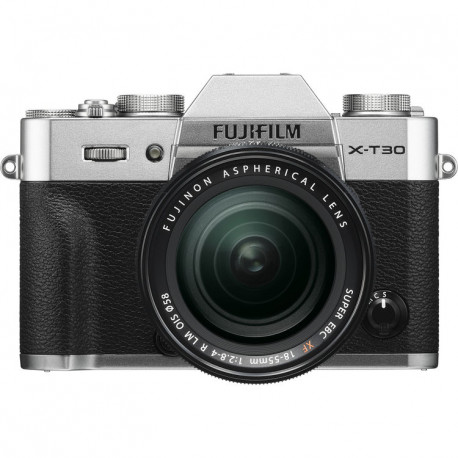 FUJIFILM X-T30 SILVER+18-55MM KIT