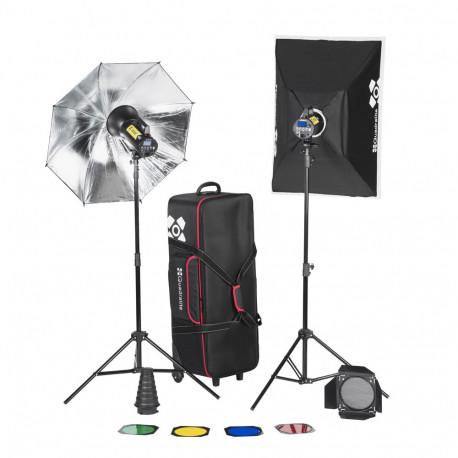 Quadralite Move X 400 Kit - studio lighting kit