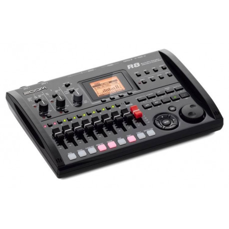 ZOOM R8 RECORDER INTERFACE