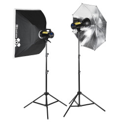 Kit Quadralite Move X 300 Kit - studio lighting kit