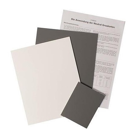 B.I.G. Set of gray cards