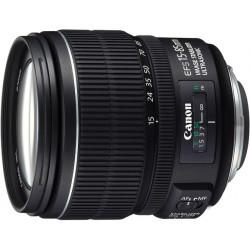 Lens Canon EF-S 15-85mm f/3.5-5.6 IS USM (употребяван)