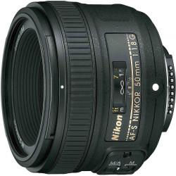 Lens Nikon AF-S Nikkor 50mm f/1.8G (употребяван)