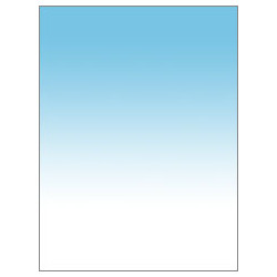 Background Colorama LL COGRAD316 PVC Background 100 x 170 cm (Colorgrad White / Aqua)