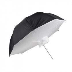 чадър Quadralite Сребрист отражателен бокс-чадър 101 см