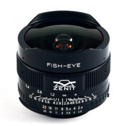 Zenit Zenitar 16mm f/2.8 Fisheye за Nikon