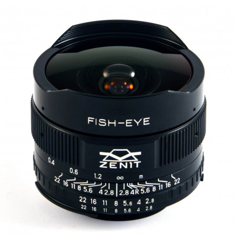 Zenit Zenitar 16mm f / 2.8 Fisheye for Nikon