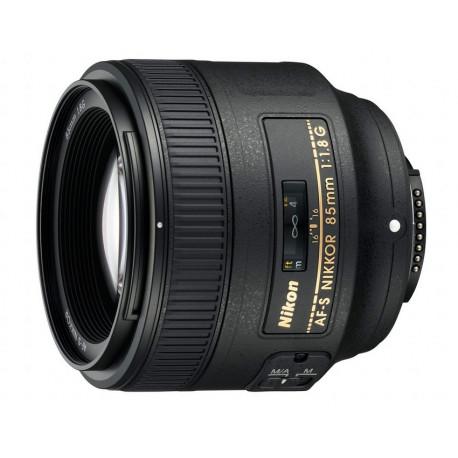 Nikon AF-S Nikkor 85mm f/1.8G (употребяван)