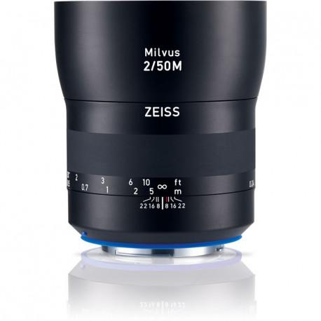 Zeiss Milvus 50mm f/2 Macro ZE - CANON EF (употребяван)