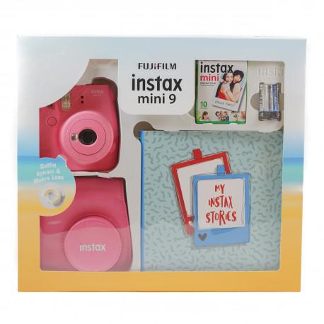 FUJIFILM INSTAX MINI 9 BOX FLAMINGO PINK