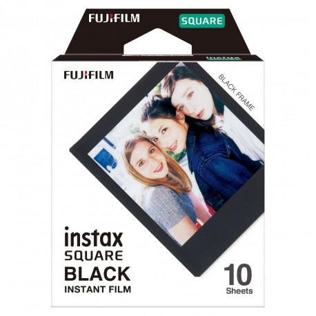 FUJIFILM INSTAX SQUARE INSTANT FILM BLACK FRAME 10 SHEETS