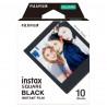 Instax Square моментален филм - черна рамка (10 л.)