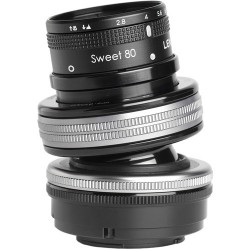 Lensbaby Composer Pro II with Sweet 80mm f/2.8 Optic за Micro 4/3