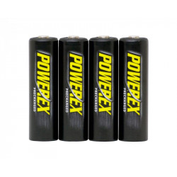 Battery Powerex Recharged 4XAA 2600Mah