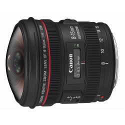 Lens Canon EF 8-15mm f / 4L USM Fisheye (used)