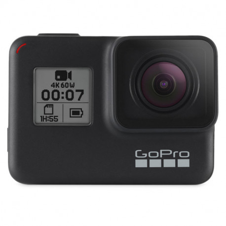 GoPro HERO7 Black + Memory card SanDisk Micro SD UHC 32GB 100MB / S 667X + ADAPTER SD + Accessory GoPro Super Suit AADIV-001
