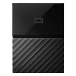 Western Digital My Passport 4TB External Memory (Black)