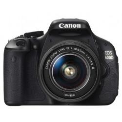 фотоапарат Canon EOS 600D + 18-55mm f/3.5-5.6 DC III (употребяван)