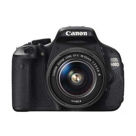 Canon EOS 600D + 18-55mm f/3.5-5.6 DC III (употребяван)