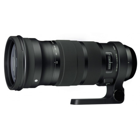 Sigma 120-300mm f / 2.8 EX DG HSM + TC-1401 - Nikon (used)