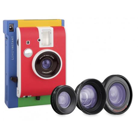 Lomo LI800S17 Iinstant Murano + 3 lenses