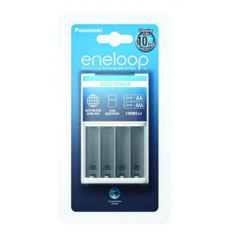 Panasonic Eneloop Basic Charger (BQ-CC51)
