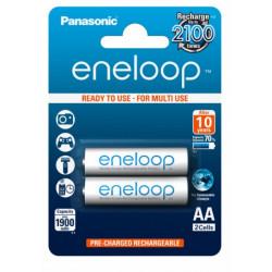 батерия Panasonic Eneloop AA 2 бр. 1900mAh (BK-3MCCE-2BE)