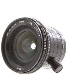 обектив Nikon PC Nikkor 28mm f/3.5 (употребяван)