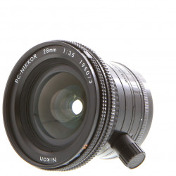 Lens Nikon PC Nikkor 28mm f / 3.5 (used)