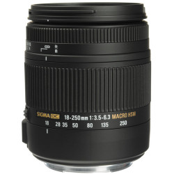 Lens Sigma 18-250mm f / 3.5-6.3 DC Macro OS HSM for Canon