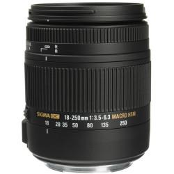 обектив Sigma 18-250mm f/3.5-6.3 DC Macro OS HSM за Canon