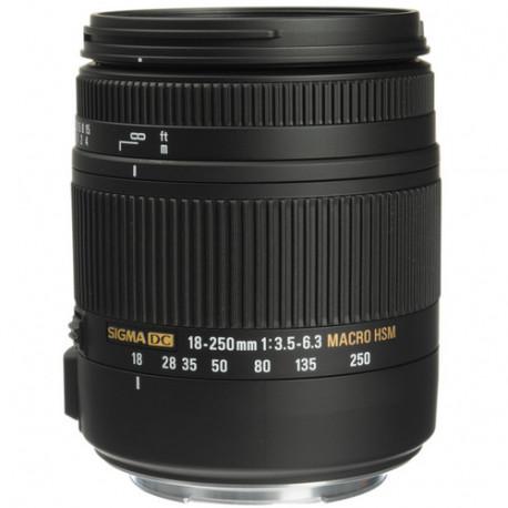 Sigma 18-250mm f/3.5-6.3 DC Macro OS HSM за Canon