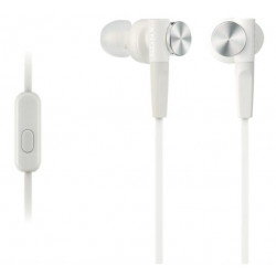 Earphones Sony MDR-XB50AP Extra Bass (White)