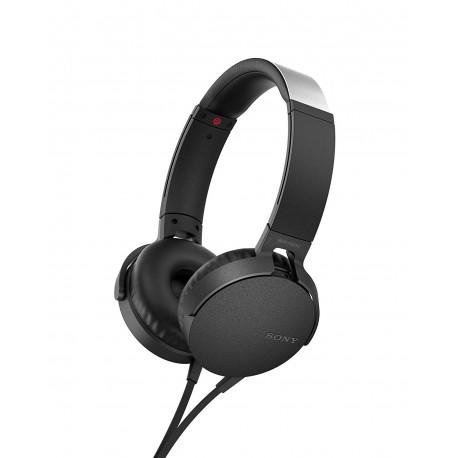 SONY MDR-XB550AP EXTRA BASS BLACK