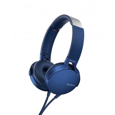 SONY MDR-XB550AP EXTRA BASS BLUE