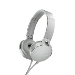 Sony MDR-XB550AP Extra Bass (бял)