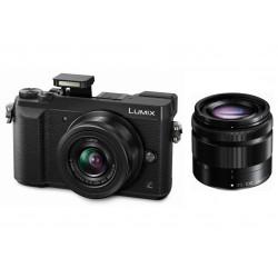 фотоапарат Panasonic Lumix GX80 + обектив Panasonic 12-32mm f/3.5-5.6 + обектив Panasonic Lumix G 35-100mm f/4-5.6 Mega OIS