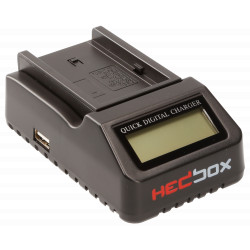 Charger Hedbox RP-DC40 LED Battery Charger