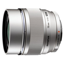 Lens Olympus ZD MICRO 75mm f / 1.8 ED MSC Silver (used)