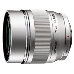 обектив Olympus ZD MICRO 75mm f/1.8 ED MSC Silver (употребяван)