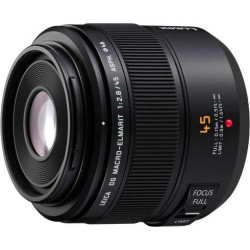 Lens Panasonic DG Macro-Elmarit Lumix 45mm f / 2.8 OIS (used)