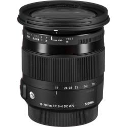 обектив Sigma 17-70mm f/2.8-4 DC HSM OS Macro | C за Nikon (употребяван)