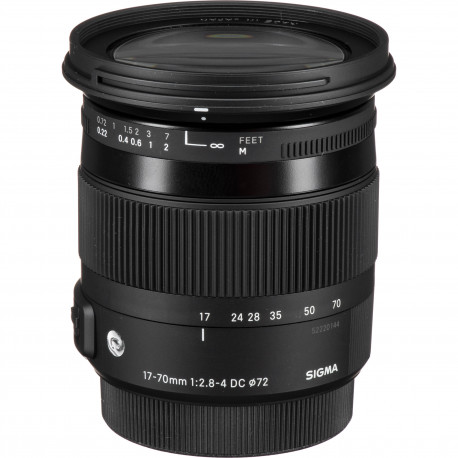 17-70mm f/2.8-4 DC HSM OS Macro | C за NIKON (употребяван)