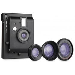 Camera Lomo LI800B Instant Black + 3 lenses