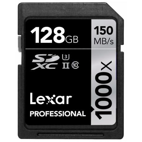 Lexar Professional SDXC 128GB 1000X 150MB / S