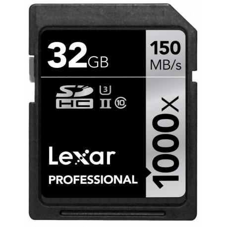 Lexar Professional SDHC 32GB 1000X 150MB / S