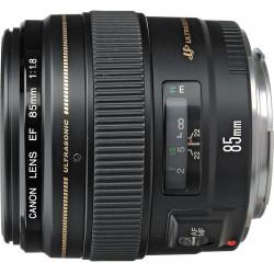 Lens Canon EF 85mm f / 1.8 USM (used)