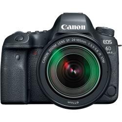 фотоапарат Canon EOS 6D Mark II + обектив Canon EF 24-105mm STM